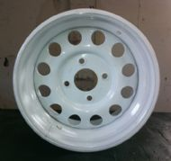 "White Weller Wheel - 7x13"" - 108x4 PCD"